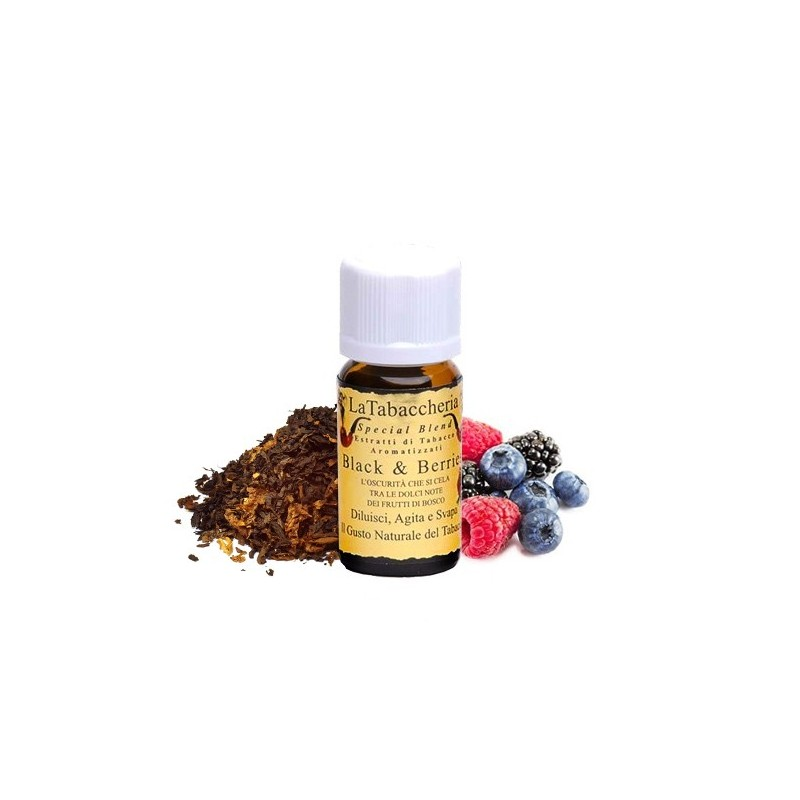 La Tabaccheria Aroma Black and Berries - Linea Special Blend -