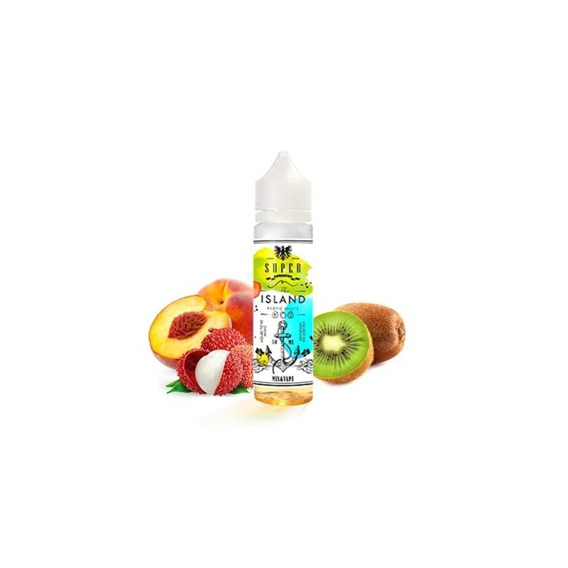 Super Flavor The Island - Mix and Vape - 50ml