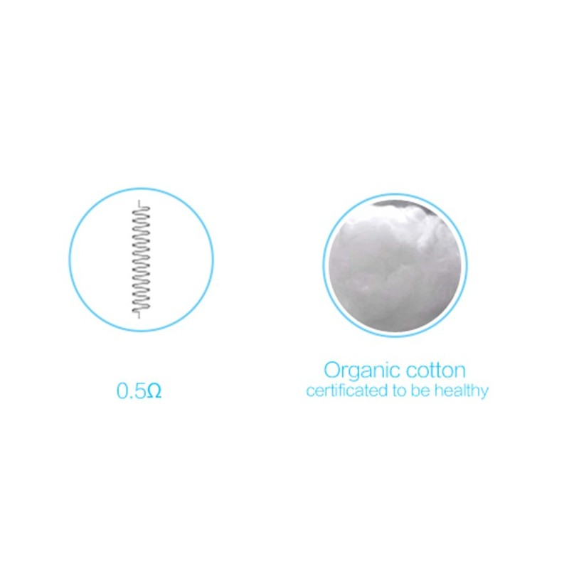 Vandy Vape SS316L Superfine MTL Clapton Wire 30ga+38ga - 10ft -